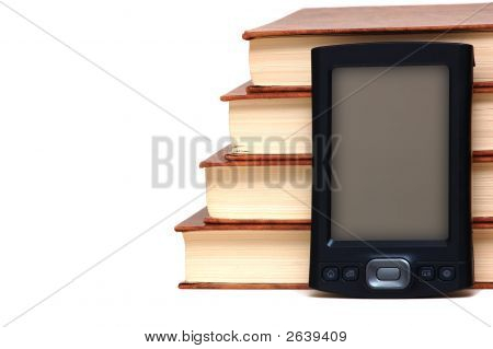 Old Books And New Technology