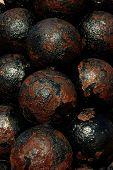 Cannon Balls, San Felipe Del Morro Fortress, San Juan, Pr, Usa