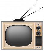 Постер, плакат: Винтажные телевизор