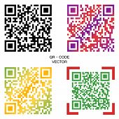 Vector Code. A Selection Of Multi-colored Codes. Elements For Your Design. Eps. poster