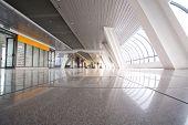 foto of modern building  - Empty modern building interior - JPG