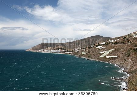 Coastline In Andalusia Spain