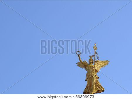 Berlin angel statue
