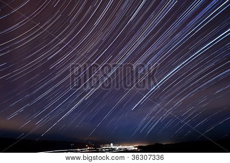 Morgan Hill Star Trails