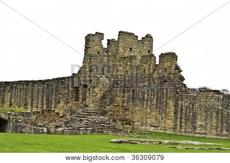 Ruins of English Medieval Castle