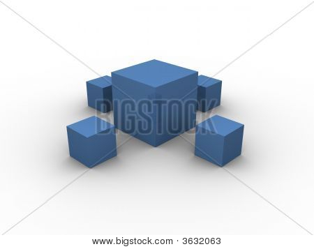 Blue Boxes Pattern 1