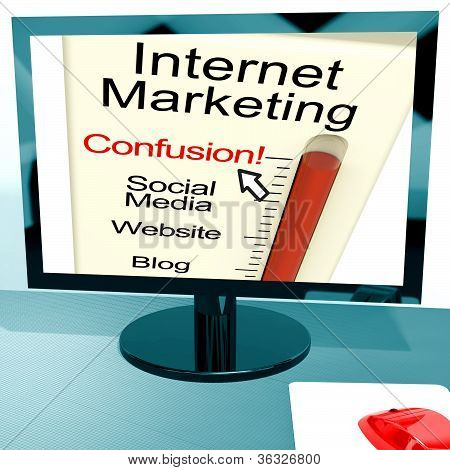 Internet Marketing Confusion Shows Online Seo Strategy