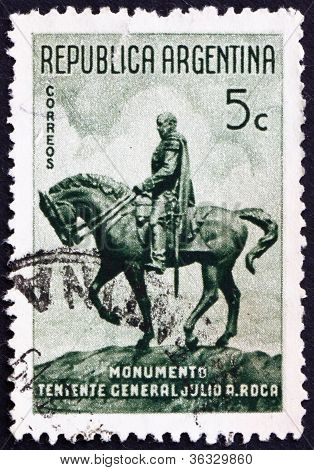 Postage stamp Argentina 1941 General Julio Roca, President