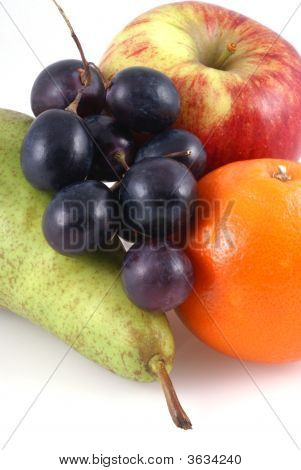 Different Kinds Of Fruit.