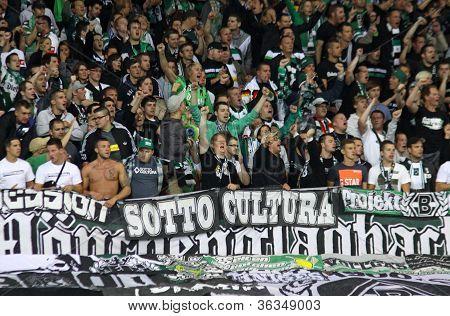 Borussia Monchengladbach Team Supporters