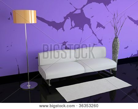 Room With Violet Walls