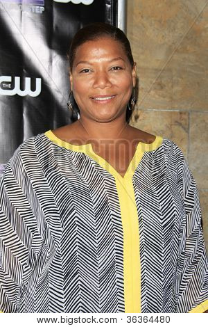 LOS ANGELES - AUG 15: Queen Latifah at the CW