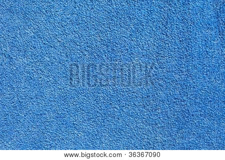 Blue Cotton Towel background.
