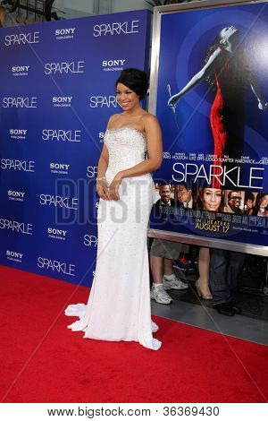 Los Angeles - AUG 16:  Jordin Sparks arrives at the