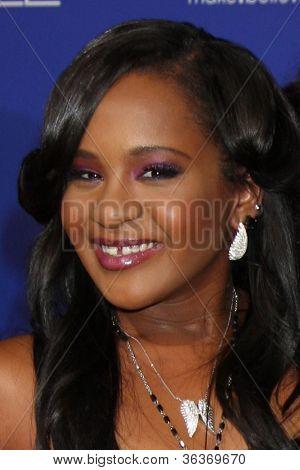 Los Angeles - AUG 16:  Bobbi Kristina Brown, Nick Gordon arrives at the