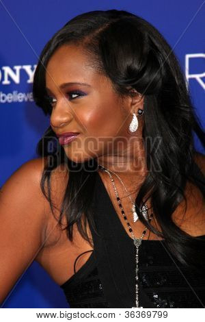 Los Angeles - AUG 16:  Bobbi Kristina Brown arrives at the
