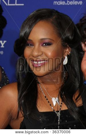 Los Angeles - AUG 16:  Bobbi Kristina Brown, Nick Gordon arrives at the