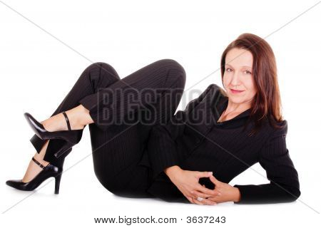 Tranquil Businesswoman