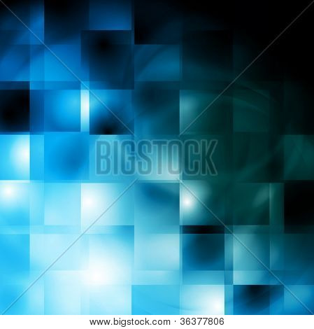 Abstract blue background. Vector illustration eps 10