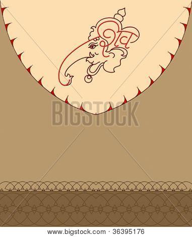 Ganesha Hand Drawn