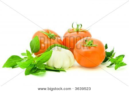 Ripe Fresh Vegetables