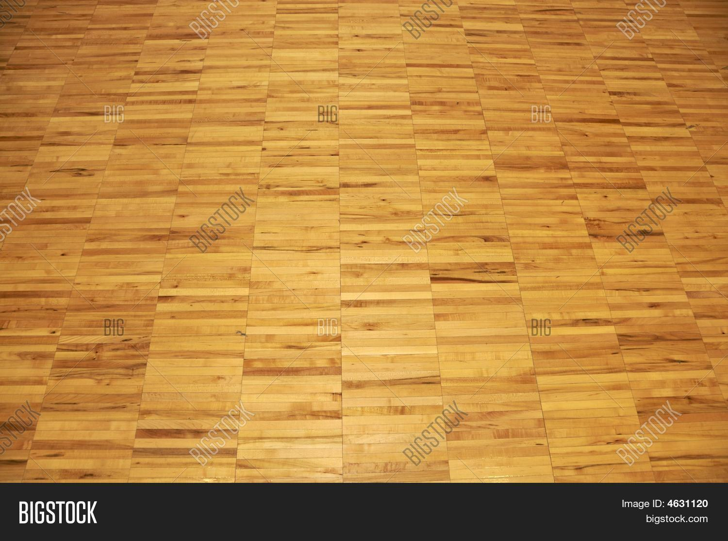Hardwood Basketball Court Floor Image Amp Photo Bigstock