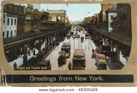 The Bowery In 1906