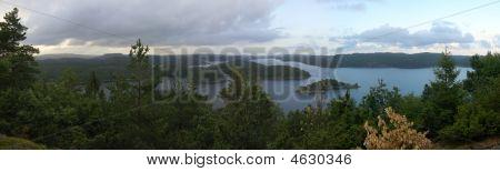 Southern Norway Lake Panorama