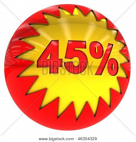 Ball With Forty Five Percent