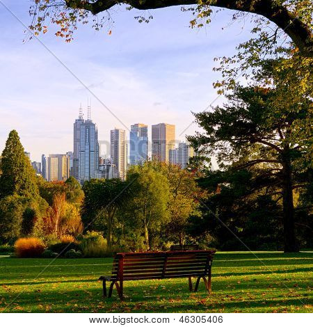 Sit Down,relax And Enjoy The Views In Melbourne.
