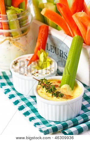 Vegetables Snack.