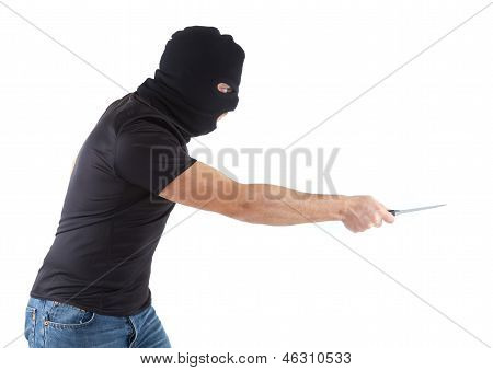 Robber With Masked