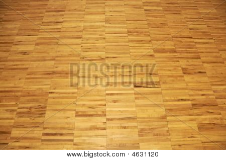 Hardwood Basketball Court, Floor