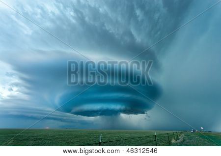Supercell near Vega, Texas - May 2012