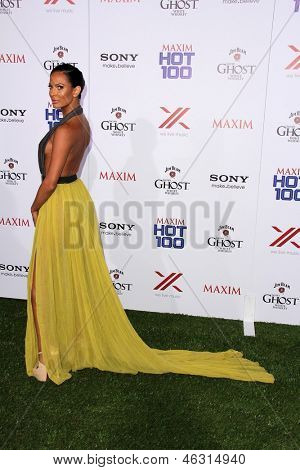 JLOS ANGELES - MAY 15:  Kenda Perez arrives at the 2013 Maxim Hot 100 Party at the Vanguard on May 15, 2013 in Los Angeles, CA