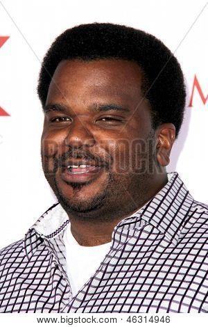 LOS ANGELES - MAY 15:  Craig Robinson arrives at the 2013 Maxim Hot 100 Party at the Vanguard on May 15, 2013 in Los Angeles, CA