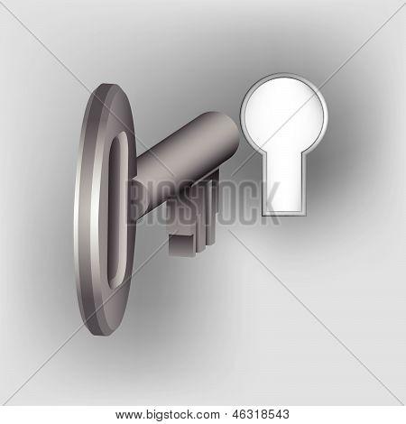 3D Door Key