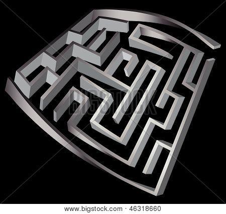 Deformed Labyrinth 3D