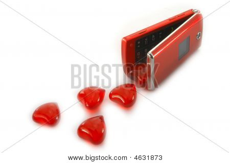 Hearts And Red Mobile