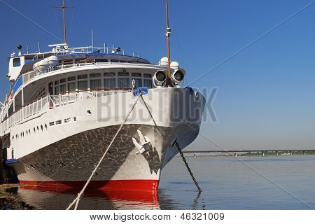 The White Walking Steamship