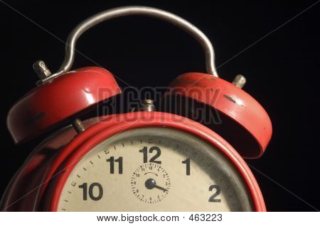 Old Red Clock