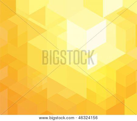 Retro orange geometrische Muster für moderne Hipster-design