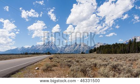 Drive To The Grand Tetons