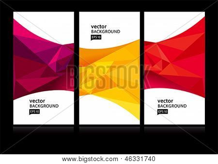 Abstract background set EPS10
