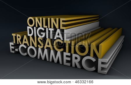 Online Digital Transaction in a E-Commerce Site