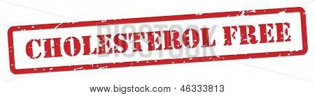 Cholesterol Free Rubber Stamp