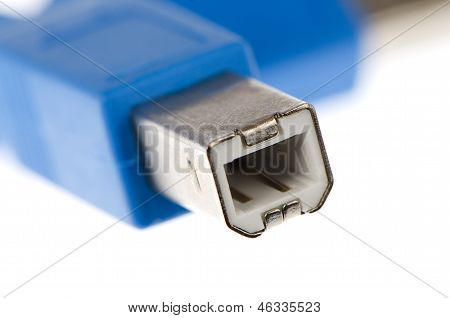 Blue Computer Usb 2.0 Cable