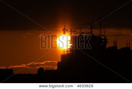 Sun And Construction