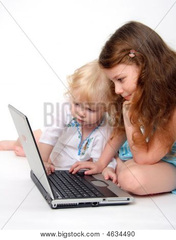 Computer And Child