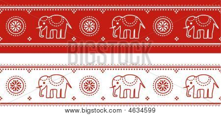 Asian Elephant Border